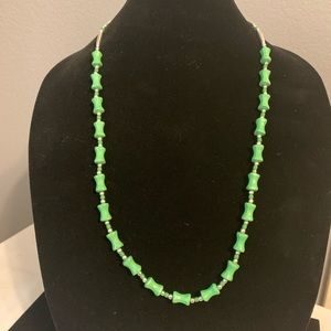 Jewelry - New Native American Indian Green Necklace Earring
